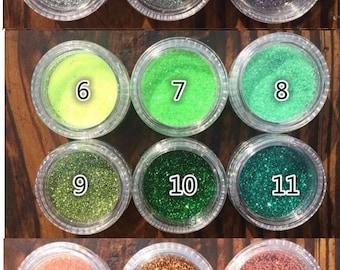 Assorted colors glitters,resin glitter,glitter sprinkle,holographic glitter,glitter powder,holographic powder,nail glitter,nail art