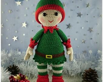 Pattern / Tuto Elliott le lutin de Noël