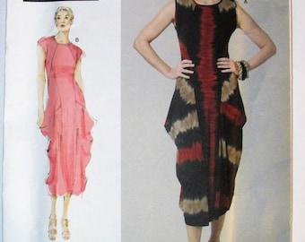 Vogue V1234 Sandra Betzina Today's Fit Sleeveless DRESS One Size UNCUT 1234