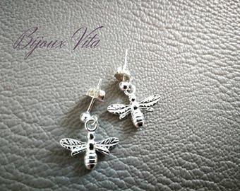 Bee 925 Sterling Silver earrings