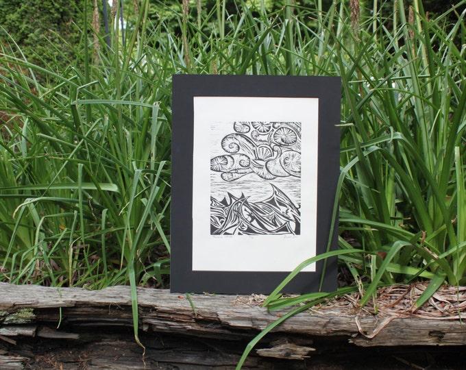 Troubled Waters Print
