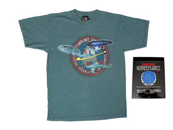 Star Trek U.S.S. Enterprise T-Shirt & Star Fleet Technical Manual