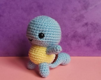 Squirtle is handmade, pokemon