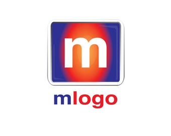 Pre-Made LOGO DESIGN - Customized with Your Name - M Logo