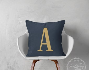 Monogrammed pillows monogram pillow decorative throw pillow cover pillow throw pillow monogrammed pillow cover