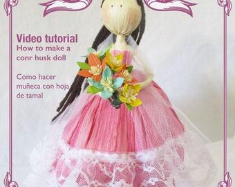 Quinceanera corn husk video tutorial