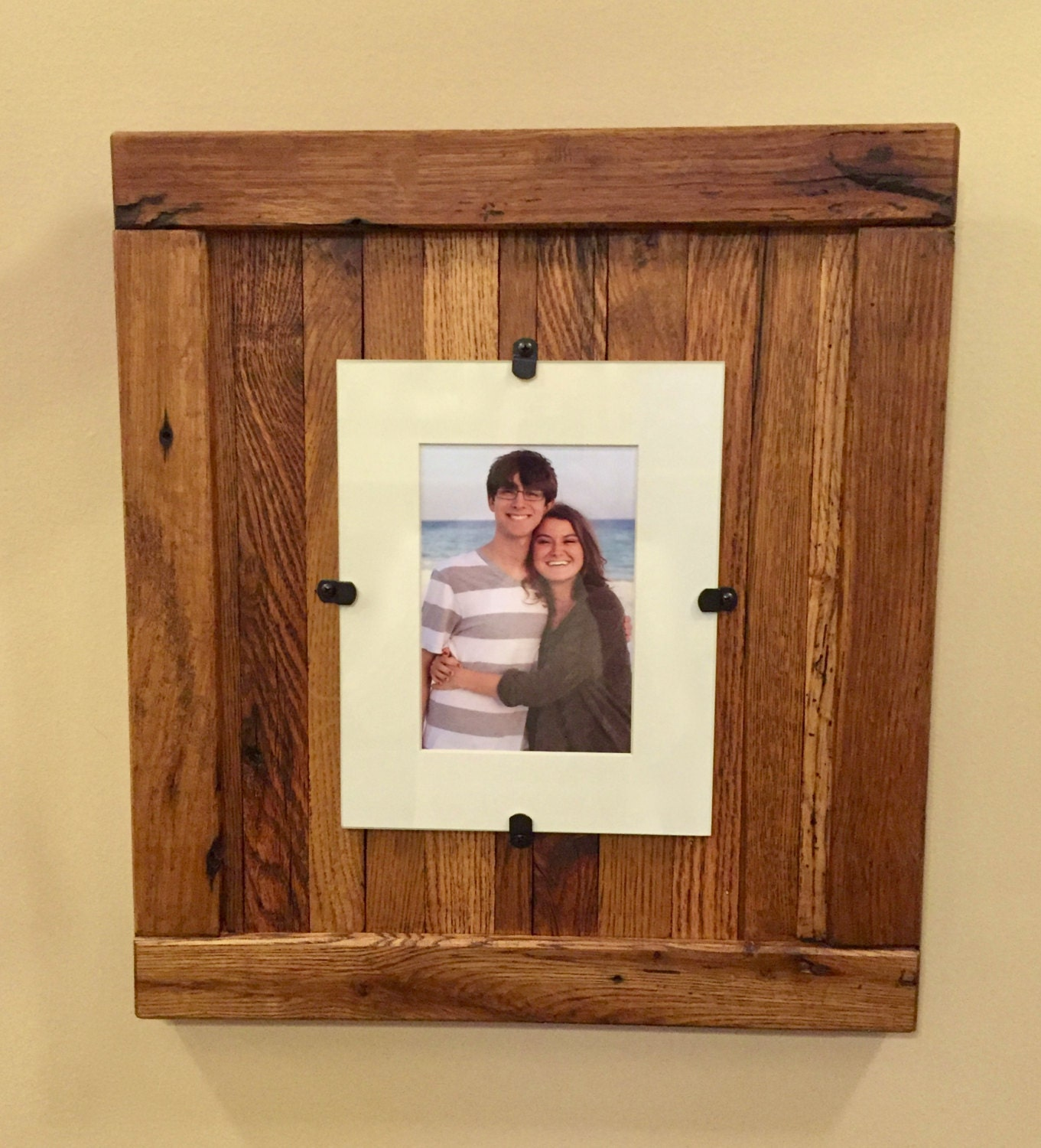 Picture Frame, Rustic Frame, Reclaimed Wood Frame, 8 x 10 Picture ...