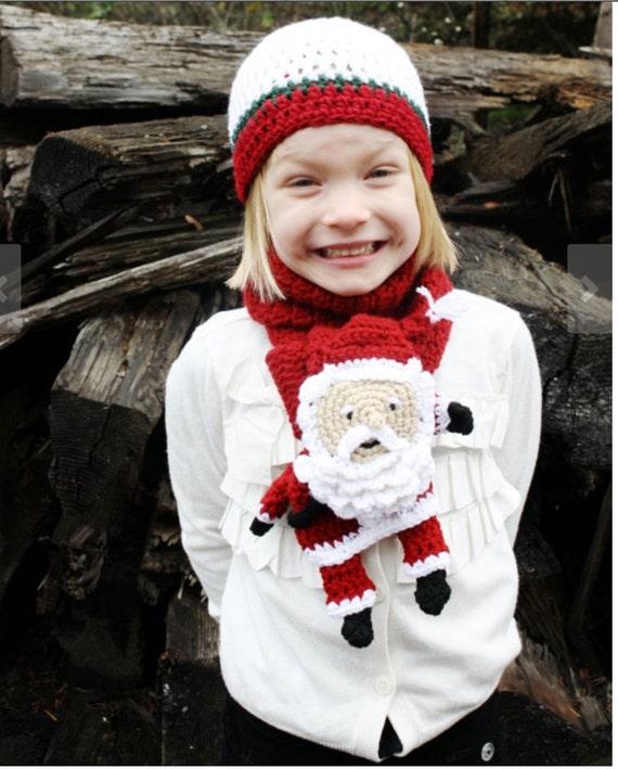 蓬松的胡子圣诞老人围巾 - 壹一 - 壹一编织博客