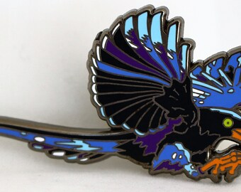 FORMOSAN MAGPIE Hat Pin!!! From the Obscure Animal Series!