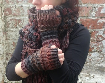 Fingerless gloves.Knit fingerless gloves,wrist warmers -arm warmers.Texting gloves.Festival accessories.