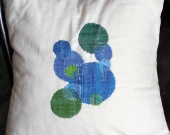 Crewel Embroidery Kit Woven Circles