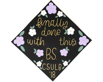 CUSTOMIZABLE // Graduation Cap Topper Designs