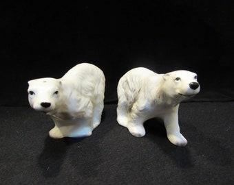 Polar Bear Salt and Pepper Shakers  (1616)