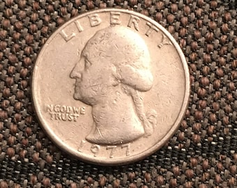 1977 Washington Quarter