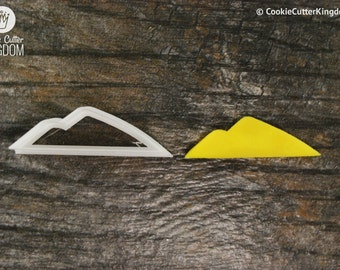 Mountains Cookie Cutter, Mini and Standard Sizes, 3D Printed