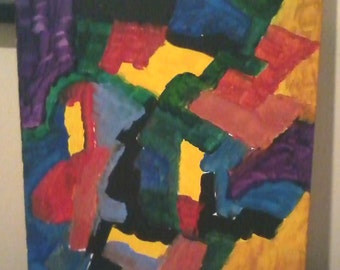 Woman With A Missing Tooth (Hyper-Cubism, Classic Coppedge) Made January 2015