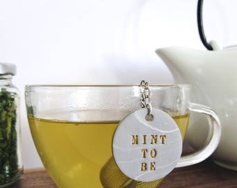 Personalized Marbled Tea Infuser | Tea Lover Gift | Gift for Him | Gift for Her | Gift for Parents | Housewarming Gift | Mother's Day Gift