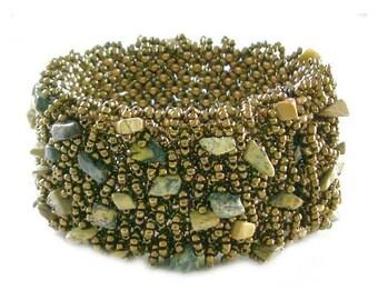 Stoned on Netting Bracelet Tutorial