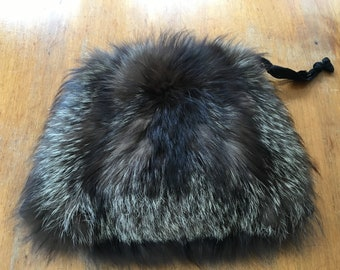 Vintage Real Fur Muff Bag