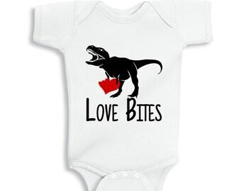 Love Bites Valentine's Baby bodysuit