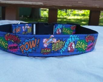 Comic Strip Dog Collar
