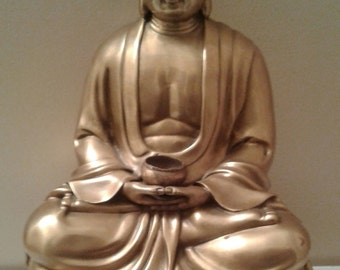 Vintage Bronze Buddha