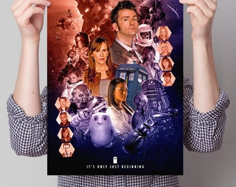 Doctor Who Poster - Series Four