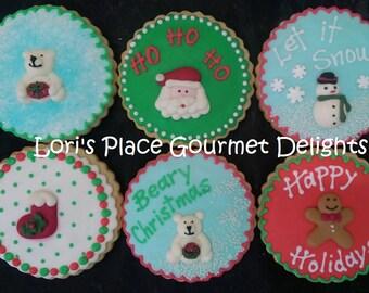 Christmas Cookies - 6 Cookies