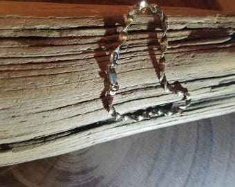 Italian Sterling Bracelet Vintage Delicate