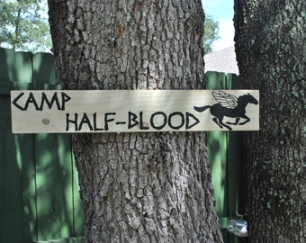 Percy Jackson & the Olympians Camp Half-Blood Sign