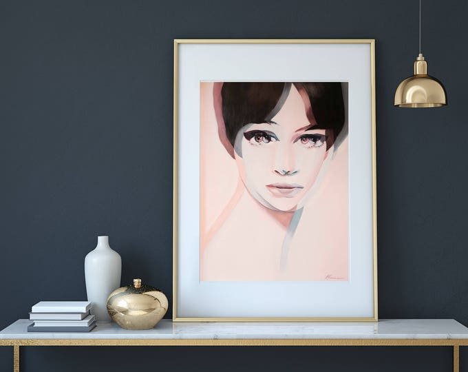 ANNA KARINA Limited Edition Print