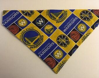 Dog bandana, NBA Golden State Warriors