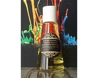 Vanilla Musk Perfume Body Oil, 2.7 Fl Oz