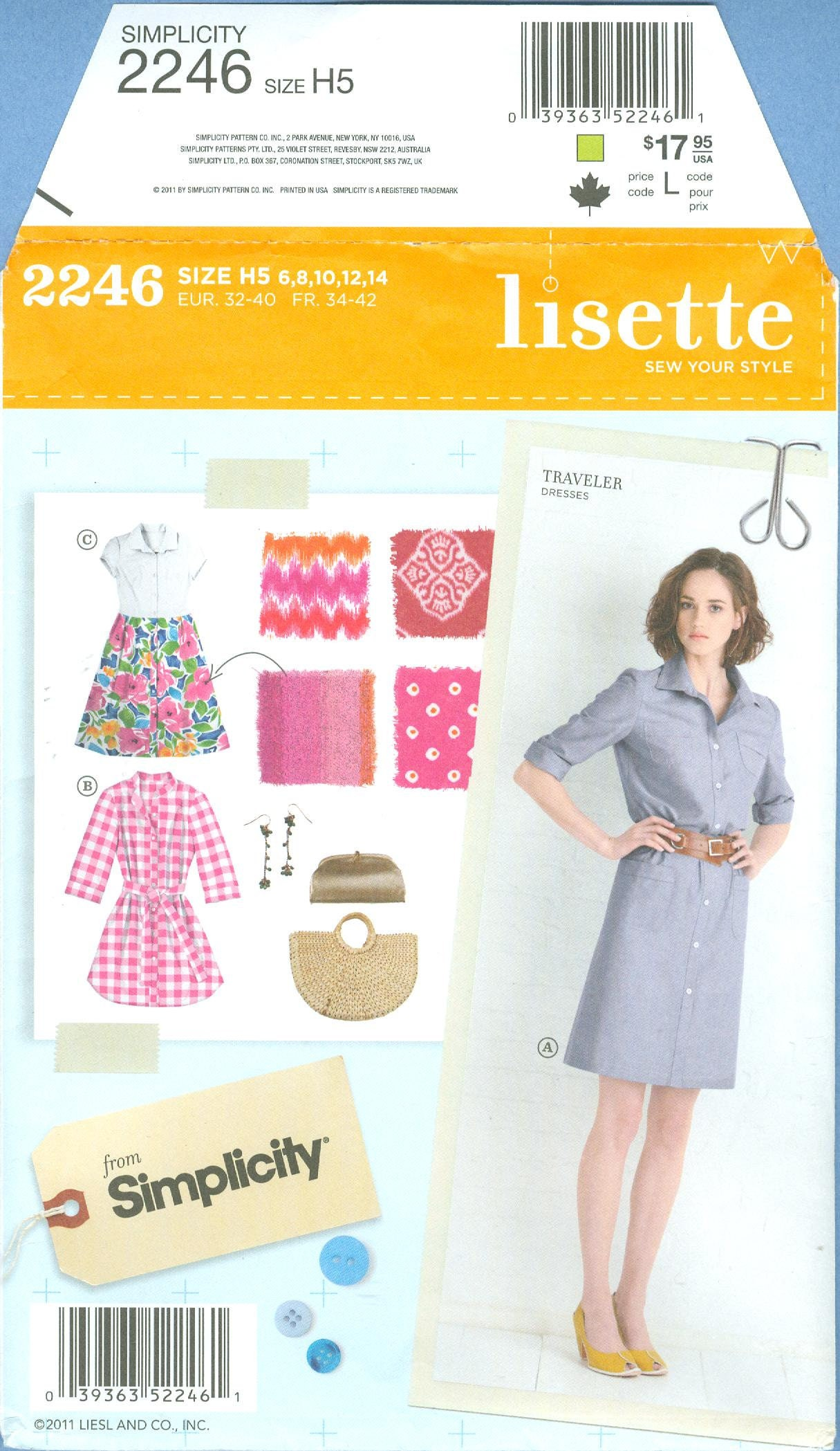 Lisette Patterns New Inspiration Design