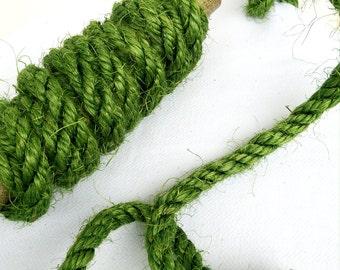 Sisal rope, 6 lengths Package of 12 '' x 1/4 '' in diameter