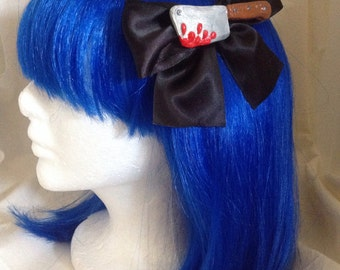 Large Bloody Cleaver Hairbow