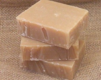 Peach Smoothie Goats Milk Shampoo Bar- All Natural Soap, Homemade Soap, Handmade Soap, Handcrafted Soap, Cold Processed Soap