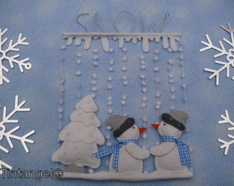 Let is Snow - PDF pattern - Download