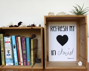 Refresh my Heart in Christ-Philemon 1:20