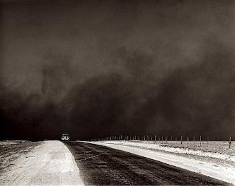 Dust Bowl Migration 1930's Photo