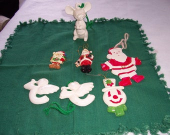 Vintage China Christmas Ornaments