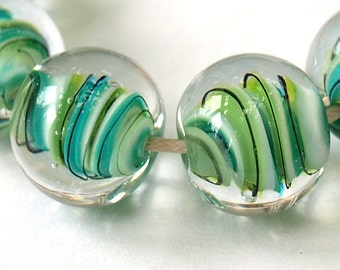 Floating Ribbons Bead Lampwork Tutorial