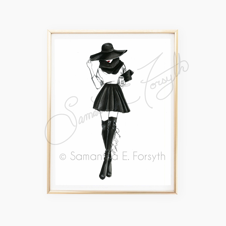 Fashion Illustration, Chanel Fashion Art, Fashion Sketches ...