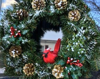 Winter Wonderland Christmas & Yule Wreath