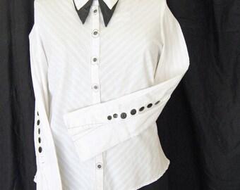 Black White Shirt SALE
