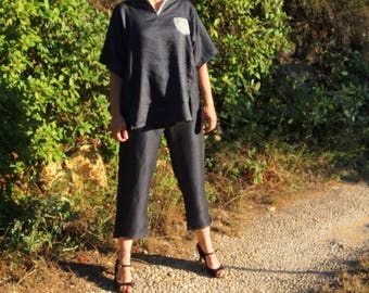 Made to order: women's top and pants, large choice of fabrics
