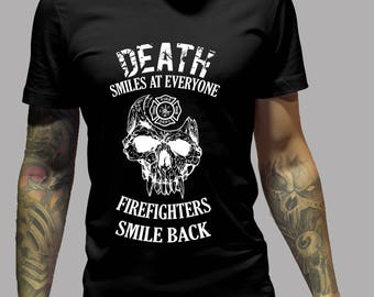 Firefighter Shirt - No Fear The Death Shirt #R