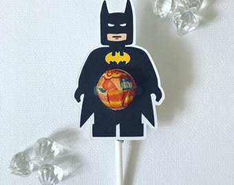 Batman MINI lollipop holders