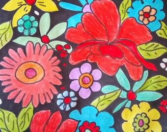 Flower print designs