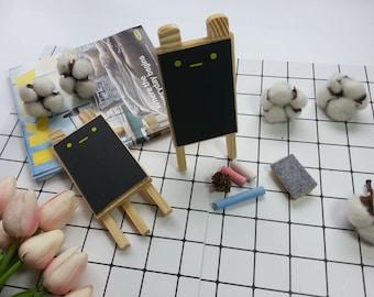 Bear Mini Wood Chalkboard / Chalkboard Sign / Wood Art / Wood Mini Chalkboard / Chalkboard Sign Food Markers / Photography Props